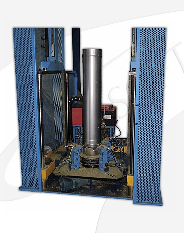 Assembler insulated chimneys